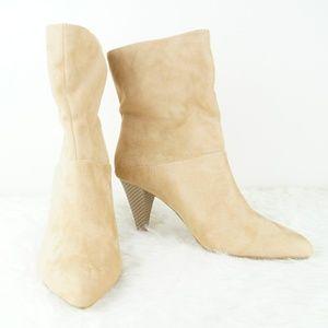 NWT | Express | Tan Heeled Boots